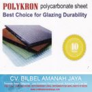 Atap Transparan Polycarbonate Polykron