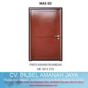 Pintu Full Aluminium Mahottama