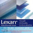 Atap Transparan Polycarbonate Lexan