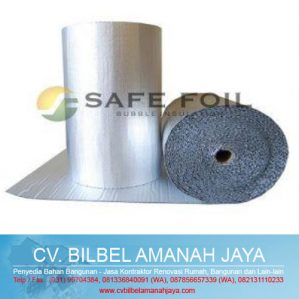 Safe Foil Bubble Insulation